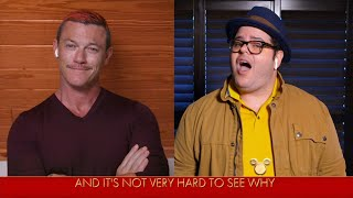 Beauty and the Beast Josh Gad, Luke Evans and Alan Menken Perform 'Gaston' - The Disney Family Singa