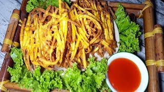 Bí Quyết Để Có Món Bánh Khoai Lang Giòn Rụm Vàng Ươm Đẹp Mắt | Góc Bếp Nhỏ