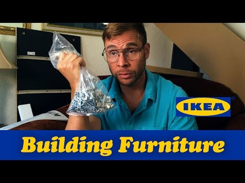 PITTSBURGH DAD BUILDS IKEA FURNITURE