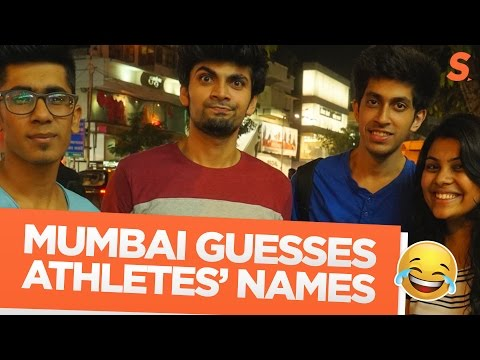 How well does Mumbai know their sports-stars' names?