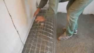 видео Из каких слоев состоит стяжка теплого пола какова ее толщина и при какой t можно заливать