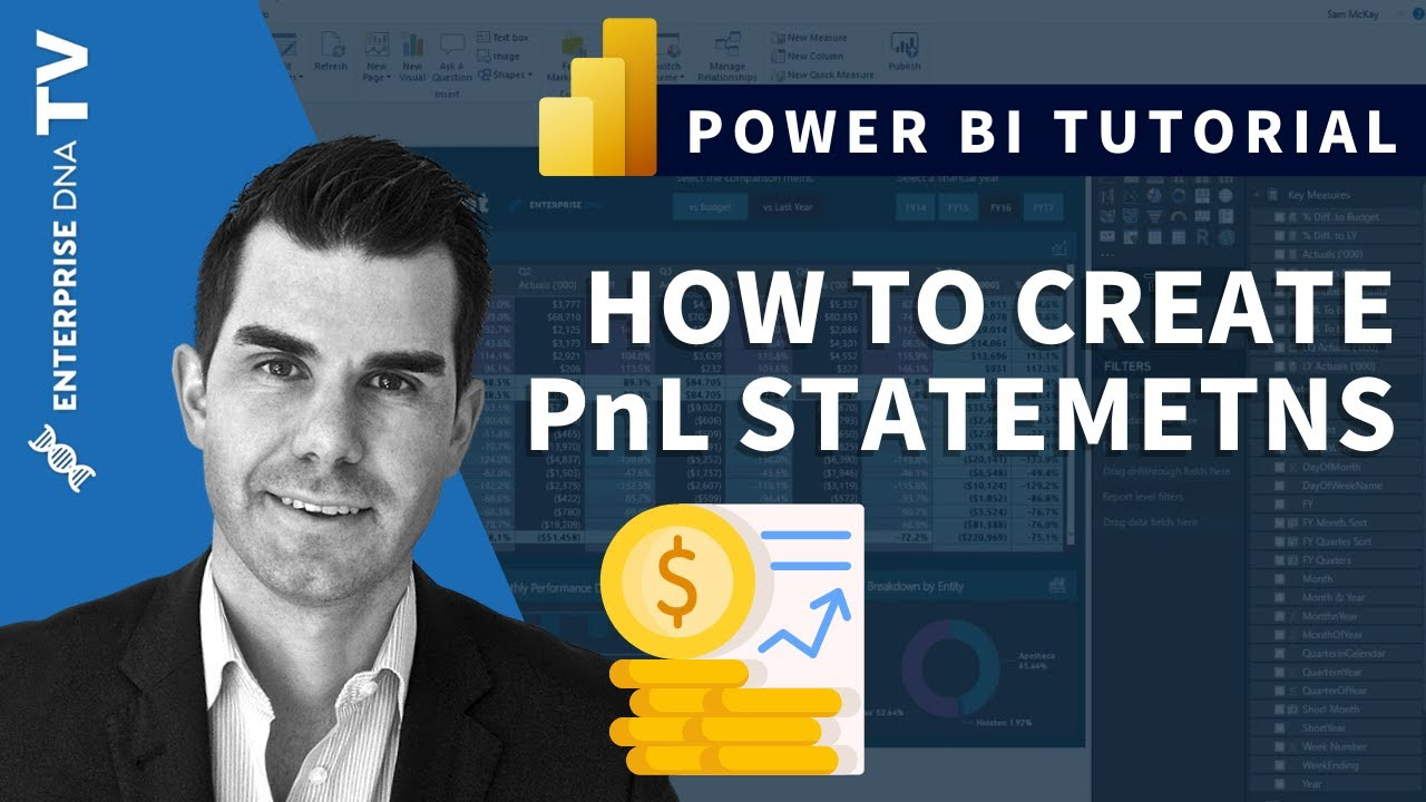 creating pnl statements in power bi financial reporting example