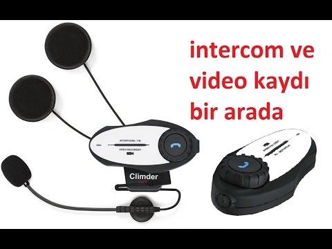 ninja 250 sl abs Climder GXV kameralı intercom video test