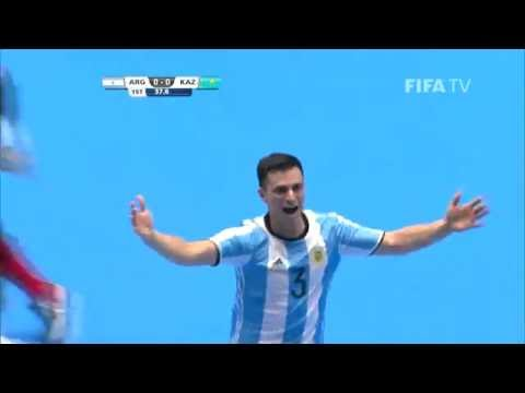 Match 9: Argentina v Kazakhstan - FIFA Futsal World Cup 2016