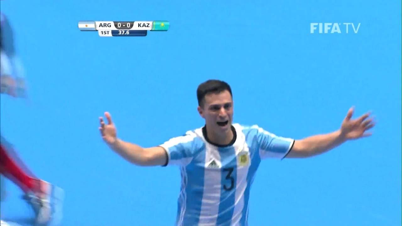Video: Futsal Argentina vs Futsal Kazakhstan
