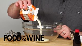 Making Whipped Cream In a Water Bottle | Does It Hack? | Food & Wine