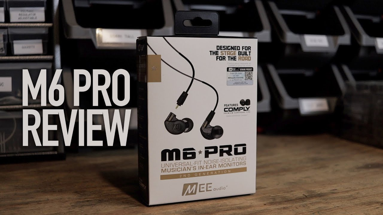 MEE Audio M6 Pro REVIEW | Affordable IN EAR monitors