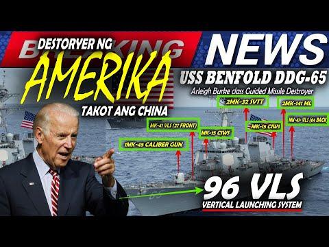 GRABE! AMERIKA PROTEKTADO ANG PILIPINAS, DESTROYER NG AMERIK