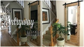 Decorate With Me:  New Entryway Mirror from Kirkland's