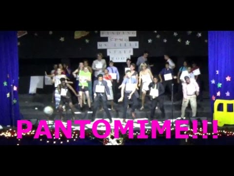 YEAR 11 PANTOMIME!!!