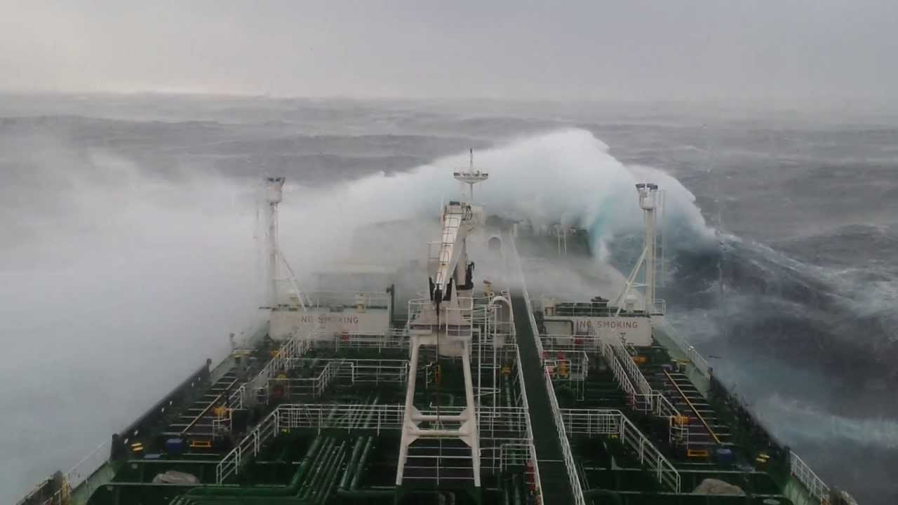 Container 24 De Танкер в урагане :) Tanker In A Big Storm - Youtube
