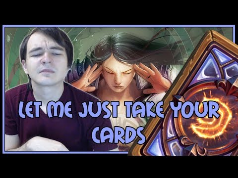 Hearthstone: Let me just take your cards (control priest)