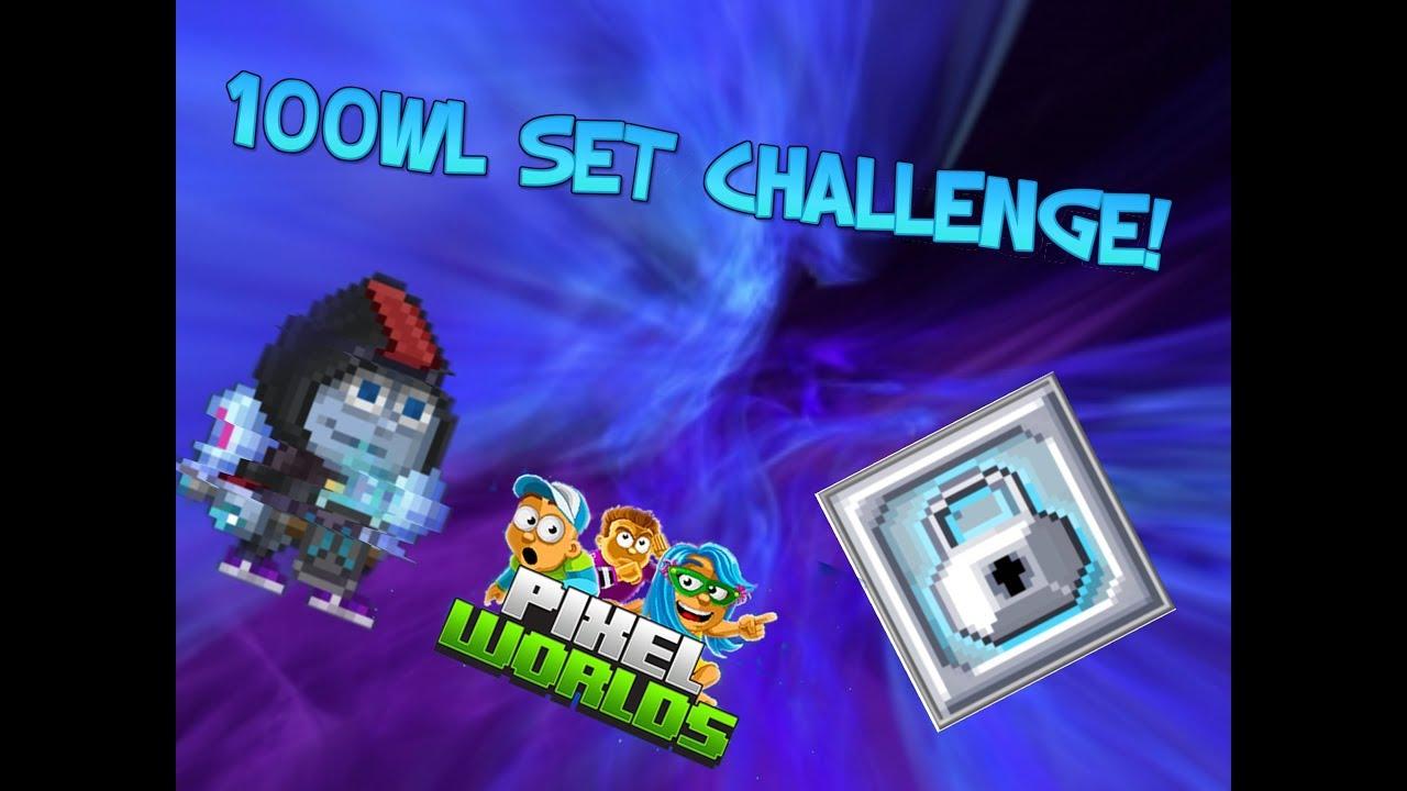 Download 100WL SET CHALLENGE! Pro edition l Pixel Worlds Suomi