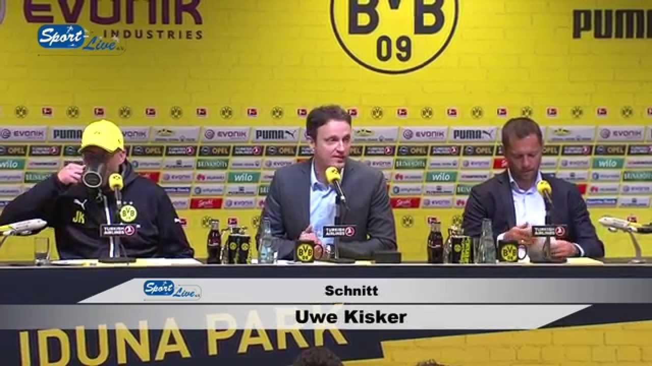 BVB Pressekonferenz nach Borussia Dortmund - Hertha BSC 2:0