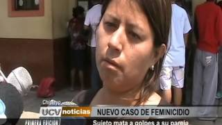 FEMINICIDIO   CHICLAYO