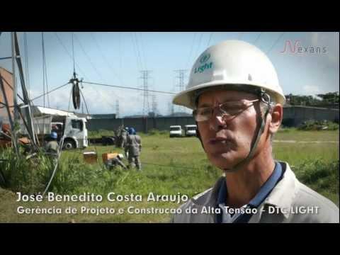 NEXANS DOCUMENTARY - AeroZ Lo-sag Cable on Rio de Janeiro, Brazil