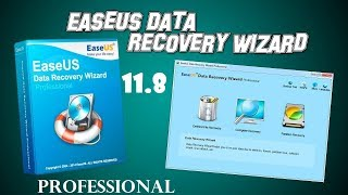 EaseUS Data Recovery Wizard 11.8 + Crack + License Key Code - Full Professional