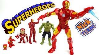 СУПЕРИГРУШКИ СУПЕРГЕРОЕВ МУЛЬТИК для детей КРУТЫЕ ИГРУШКИ superheroes toy for kids