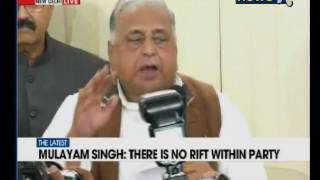 Akhilesh May Be CM But I Am The Party Chief: Mulayam Singh