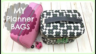 What's in my Travel Planner Bag | Planner supplies organization