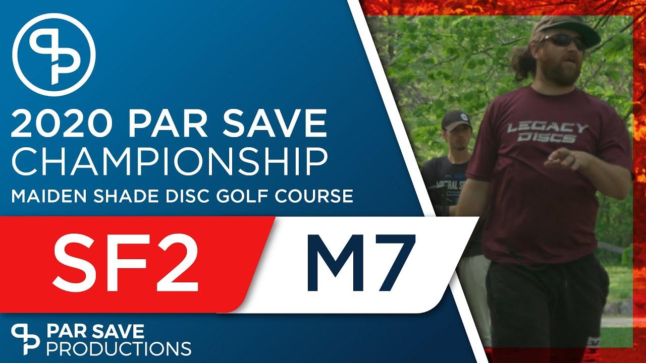 2020 Par Save Championship - Semifinal Middle 7 - Rothlisberger, Johnson, Robertson, Hegna