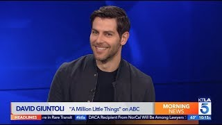 David Giuntoli Spills on the Second Season of quotA Million Little Thingsquot