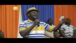 Raila Odinga akutana na wagombea wa ODM