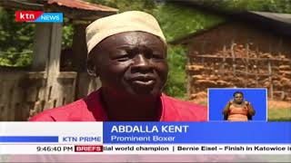 Kenyan boxer Abdalla Kent once famed for sharing a ring with legendary boxer Muhamad Ali ailing
