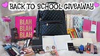 HUGE Back to School GIVEAWAY --CLOSED--