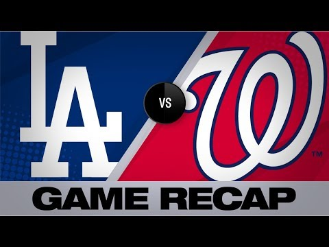 Strasburg, Rendon power Nats past Dodgers | Dodgers-Nationals Game Highlights 7/28/19