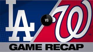 Strasburg, Rendon power Nats past Dodgers | Dodgers-Nationals Game Highlights 7/28/19