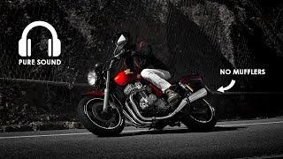 Honda CB750 Seven Fifty   Ride   PURE SOUND 🎧