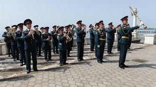 Генеральный прогон: как проходила последняя репетиция перед парадом Победы в Сухуме