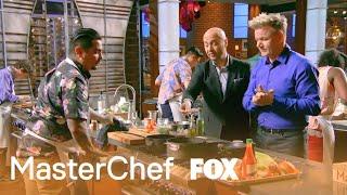 Aarón Makes A Crawfish & Shrimp Etouffee   Season 9 Ep. 9   MASTERCHEF