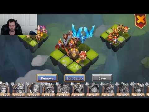 Rank 1 Castle Clash Player NEEDS HELP Lost Battlefield Tips Welcome