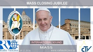 Holy Mass closing the Jubilee of Mercy