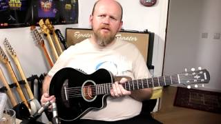 My Guitars #17 (Yamaha APX-T2) - Martin Cliffe