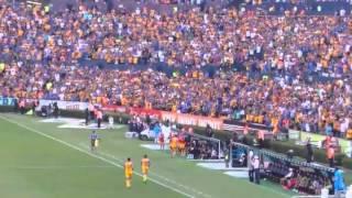 Tigres vs Queretaro 5-1 - Todos los goles y festejos - Apertura 2015
