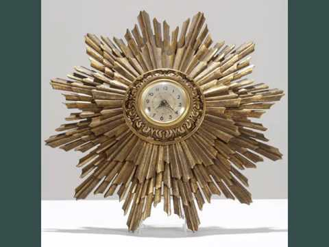 Wall Clock Art wall clocks art deco collection - youtube