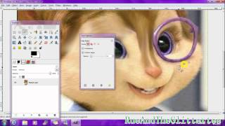 How To Take of Chipette Jeanette Glasses on Gimp