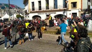 Incidentes en la manifestación de agricultores en Mérida