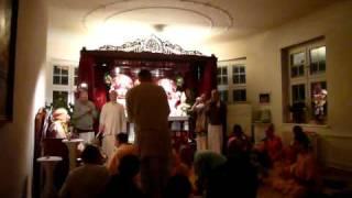 srila prabhupada murti installation in berlin