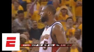 11th anniversary of Baron Davis' playoff dunk vs. the Jazz (2007)   ESPN Archives