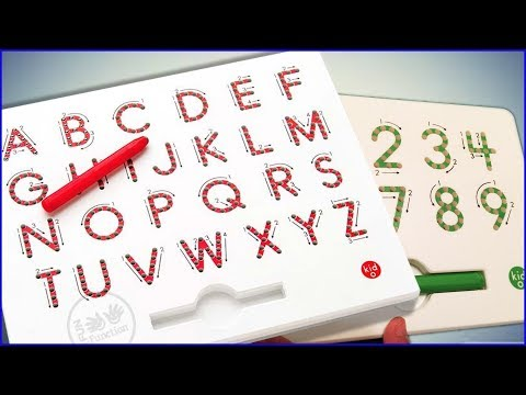 Learning ABC Letter Phonics and Numbers 0-9 with MAGNATAB