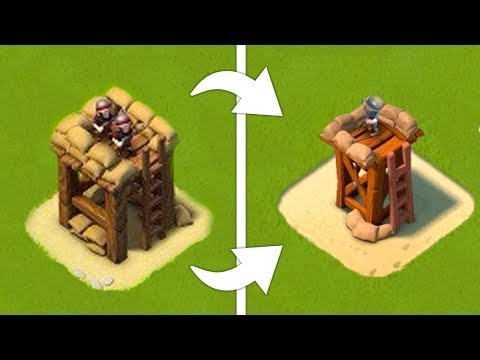 What Boom Beach USED to Look Like!