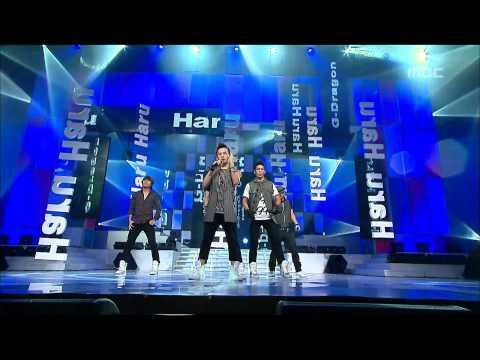 Bigbang - Haru Haru, 빅뱅 - 하루 하루, Music Core 20080906
