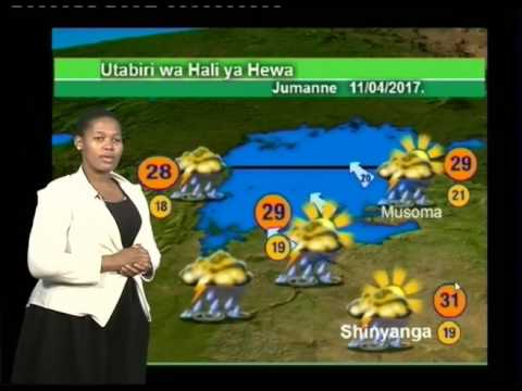 Tanzania Weather Forecast  10/04/2017