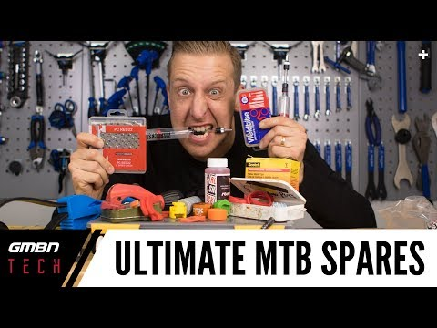 Ultimate MTB Spares To Have In Your Workshop | Set Up Your Workshop Like A Pro
