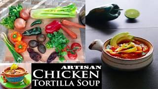 Artisan Chicken Tortilla Soup – Instant Pot & Slow Cooker