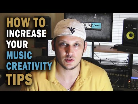 How To Increase Your Music Creativity   Creativity Music Tips